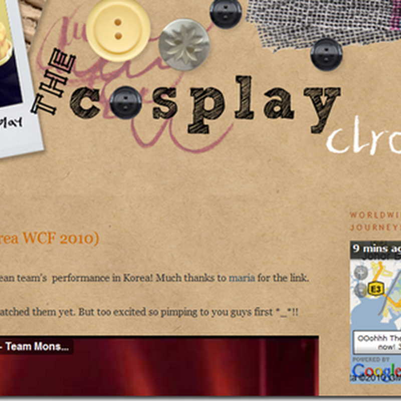 Worldwide Cosplayer Project Blogloc!