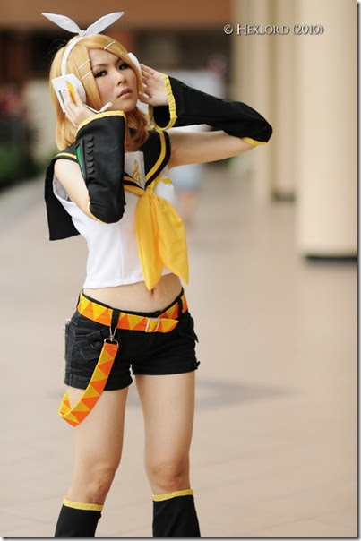 Introduction to cosplaying as Kagamine Rin