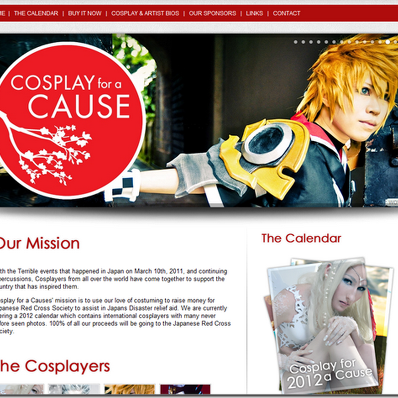 Cosplay for a cause ( Calendar Fund raiser)