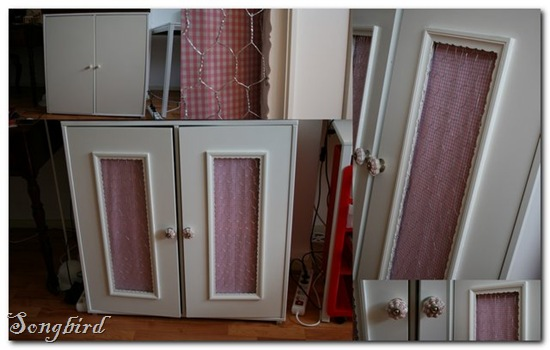 Ikea cabinet hack collage