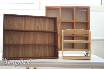 Shelve units