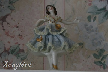 Ballerina on shelf