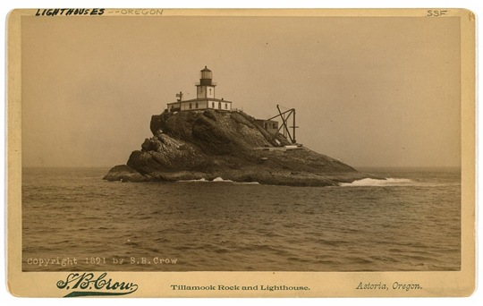 Vintage Lighthouse Card