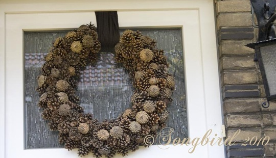 Pine Cone Wreath 4