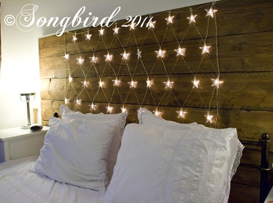 how to put up light in a bedroom