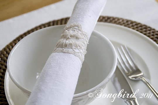 Lace Napkin Ring 5
