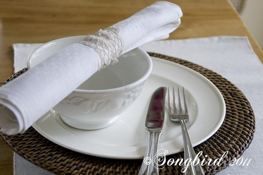 Lace Napkin Ring 6