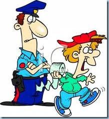 poliziotto bambino