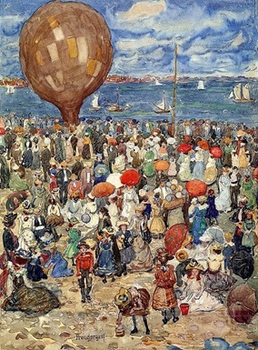 Maurice Prendergast - The balloon
