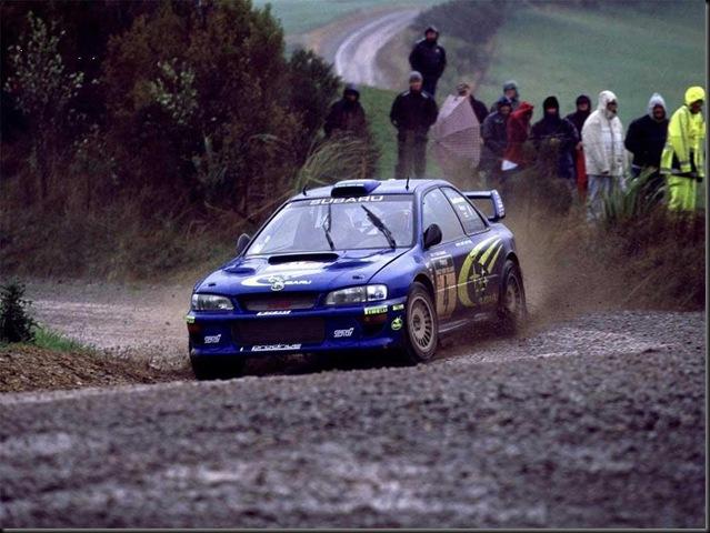 Subaru Impreza WRC Wallpaper 1