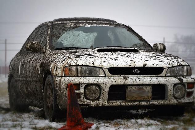 impreza mud