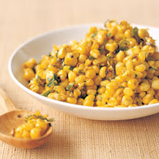 Corn with Mustard Seeds