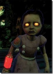 The little sisters are classic minions of a boss monster creepy children