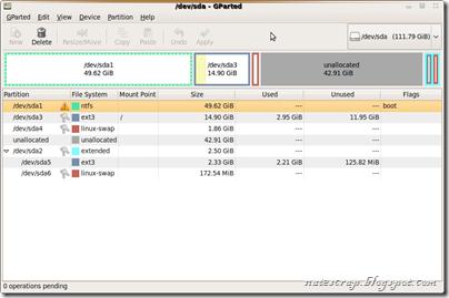Screenshot--GParted