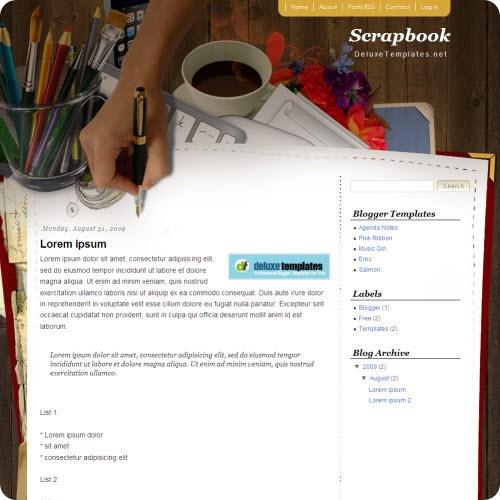scrapbook-mania-blogger-template