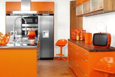 Home-designing, Orange inredning1