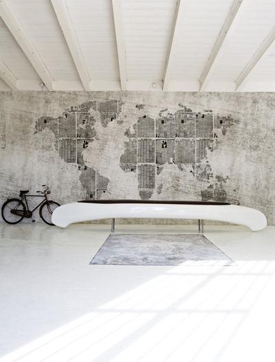 Karta på väggen, Wall & Decò