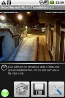 Screenshot of Tenerife Webcam