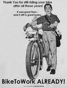 Bike to work already!