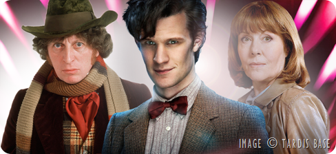 4th Doctor, 11th Doctor and Sarah Jane Smith