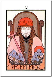 Aquarian Tarot  Major-Emperor