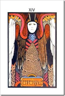 Aquarian Tarot  Major-Temperance