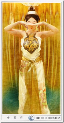 02-Major-Priestess China Tarot