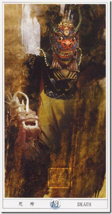 13-Major-Death China Tarot