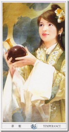14-Major-Temperance China Tarot