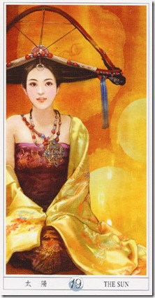 19-Major-Sun China Tarot