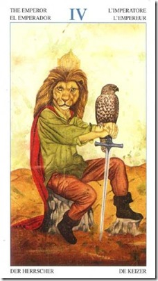 04-Major-Emperor Animal Lords TAROT