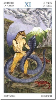 11-Major-Strenght Animal Lords TAROT