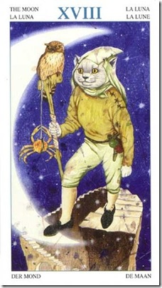 18-Major-Moon Animal Lords TAROT