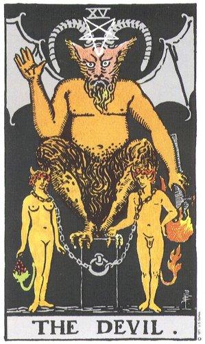 Tarot O Diabo