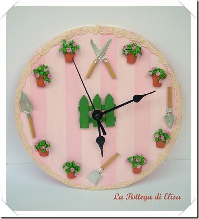 orologio fiorellini rosa