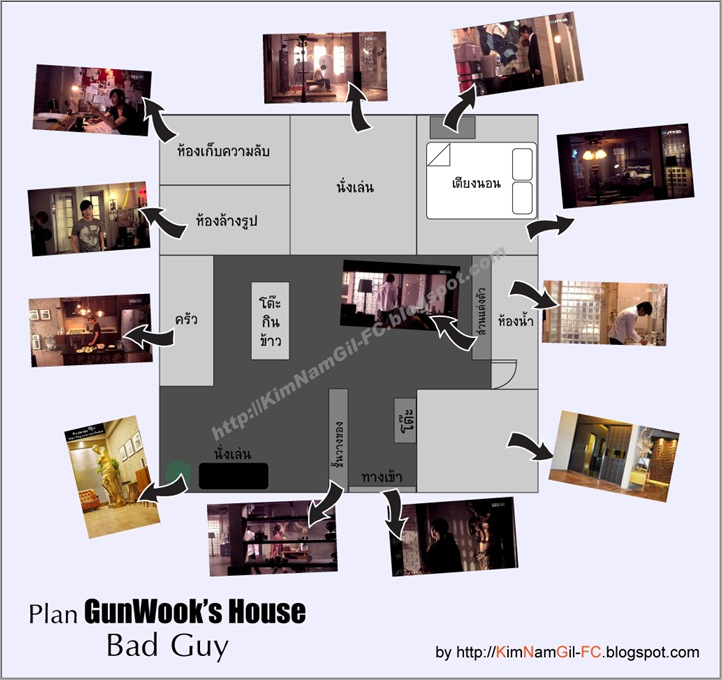 Plan-GunWookHouse