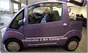 Air powered car 02