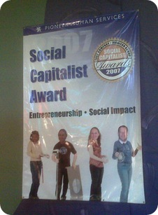 Mezza Cafe - Pioneer Human Services (Social Capitalist Award - Entrepreneurship and Social Impact