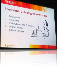 nexus - James brown - five strategies for change