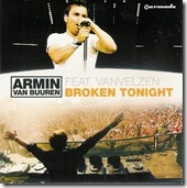 Armin Van Buuren Ft Van Velzen - Broken Tonight CD