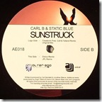 Carl B & Static Blue - Sunstruck