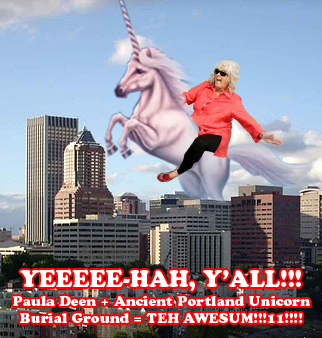 Paula Deen and the Unicorn Spirit of Portland