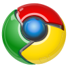 Old Google chrome logo