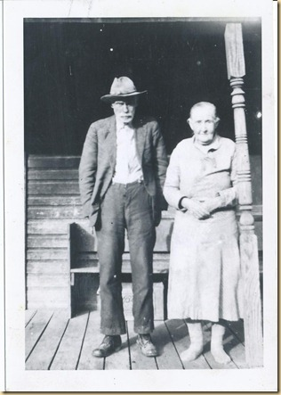 James Leroy Critchfield and Sylvania Glover Critchfield