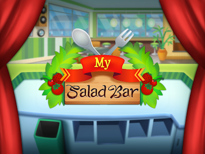 Game my salad bar healthy food shop manager apk for for Food bar game