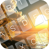 Download Sun Rise Keyboard Theme APK on PC