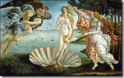 El nacimiento de Venus (Sandro Boticelli)