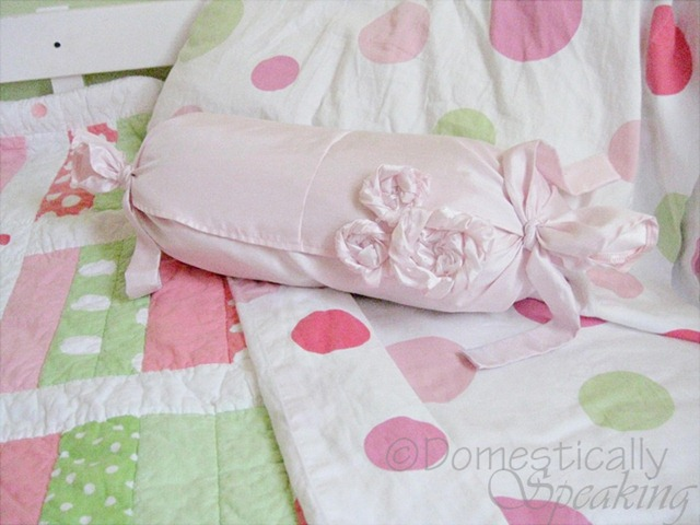 Laundry disaster turned frilly pillow