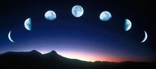 ciclos da lua