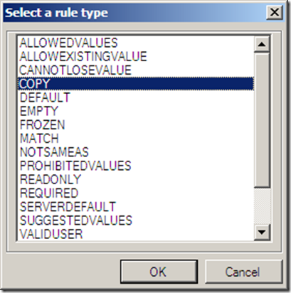 SelectARuleType